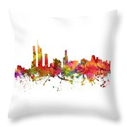 Gold Coast Australia Cityscape 08 Throw Pillow