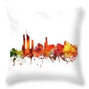 Gold Coast Cityscape 04 Throw Pillow