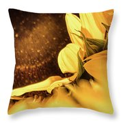 Gold Dust 2 - Throw Pillow