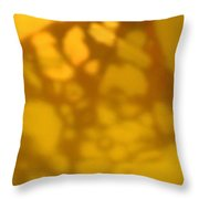 Gold Leaf 5 Throw Pillow