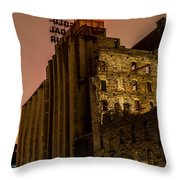 Gold Medal Flour Sign Throw Pillow