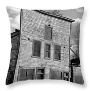Gold Rush Saloon - Dawson City Throw Pillow
