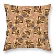 Golden Arrowheads Throw Pillow