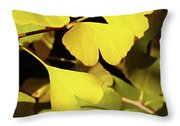 Golden Autumn In Tokyo Throw Pillow