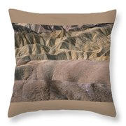 Golden Canyon - Death Valley National Park Throw Pillow