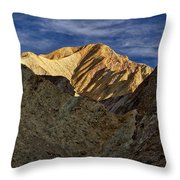 Golden Canyon View #2 - Death Valley Throw Pillow