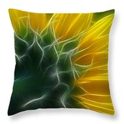 Golden Delight Throw Pillow