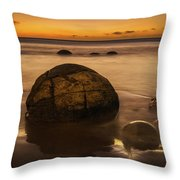 Golden Egg Throw Pillow