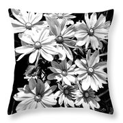 Golden Eyed Susan 2 Throw Pillow