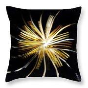 Golden Forks 1 Throw Pillow