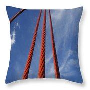 Golden Gate Throw Pillow