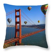 The City Of Dreams Throw Pillow