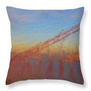 Golden Gate Bridge II Throw Pillow