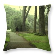 Golden Gate Park 06 Throw Pillow