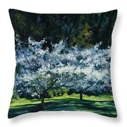 Golden Gate Park Throw Pillow