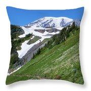 Golden Gate Trail Throw Pillow