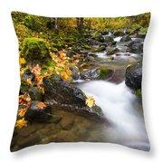 Golden Grove Throw Pillow