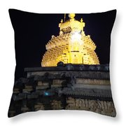 Golden Hours Throw Pillow