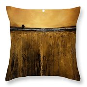 Golden Inspirations Throw Pillow