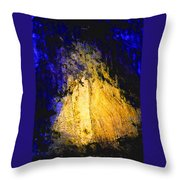 Golden Light Throw Pillow