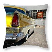 Golden Lincoln Throw Pillow