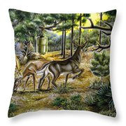 Golden Opportunity Throw Pillow