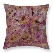 Golden Rapture Throw Pillow by Don  Wright