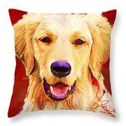 Golden Retriever 3 Throw Pillow