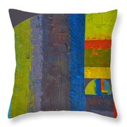 Golden Spiral Study Throw Pillow