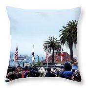 Golden State Berners Throw Pillow