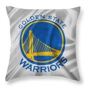 Golden State Warriors Throw Pillow