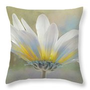 Golden Sunshine On A Most Splendid Daisy Throw Pillow