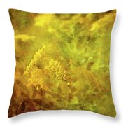 Golden Swirl 5082 Idp_2 Throw Pillow