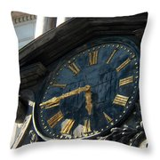 Golden Time Throw Pillow