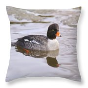 Goldeneye Throw Pillow