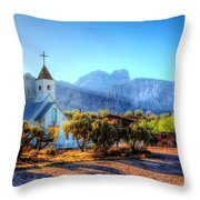 Goldfield Church Throw Pillow