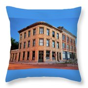 Goldfield Consolidated Mines Building Throw Pillow