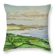 Goleen Vista Throw Pillow