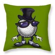 Golf Classic Throw Pillow