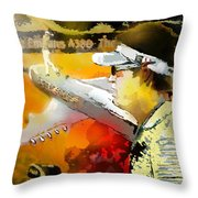Golf In Club Fontana Austria 04 Throw Pillow