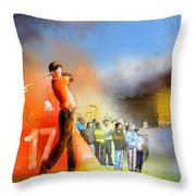 Golf Madrid Masters 01 Throw Pillow