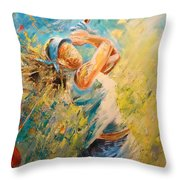 Golf Passion Throw Pillow