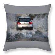 Golf Through A Ford Throw Pillow
