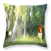 Golf Trophee Hassan II In Royal Golf Dar Es Salam Morocco 01 Throw Pillow