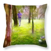 Golf Trophee Hassan II In Royal Golf Dar Es Salam Morocco 02 Throw Pillow