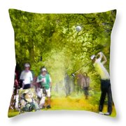 Golf Trophee Hassan II In Royal Golf Dar Es Salam Morocco 03 Throw Pillow