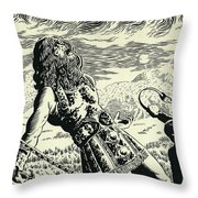 Goliath Throw Pillow