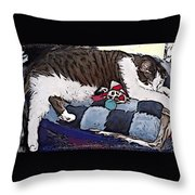 Gomez Throw Pillow