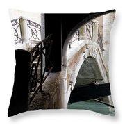 Gondola Da Ivo Throw Pillow