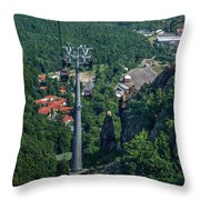 Gondola Hexentanzplatz Throw Pillow